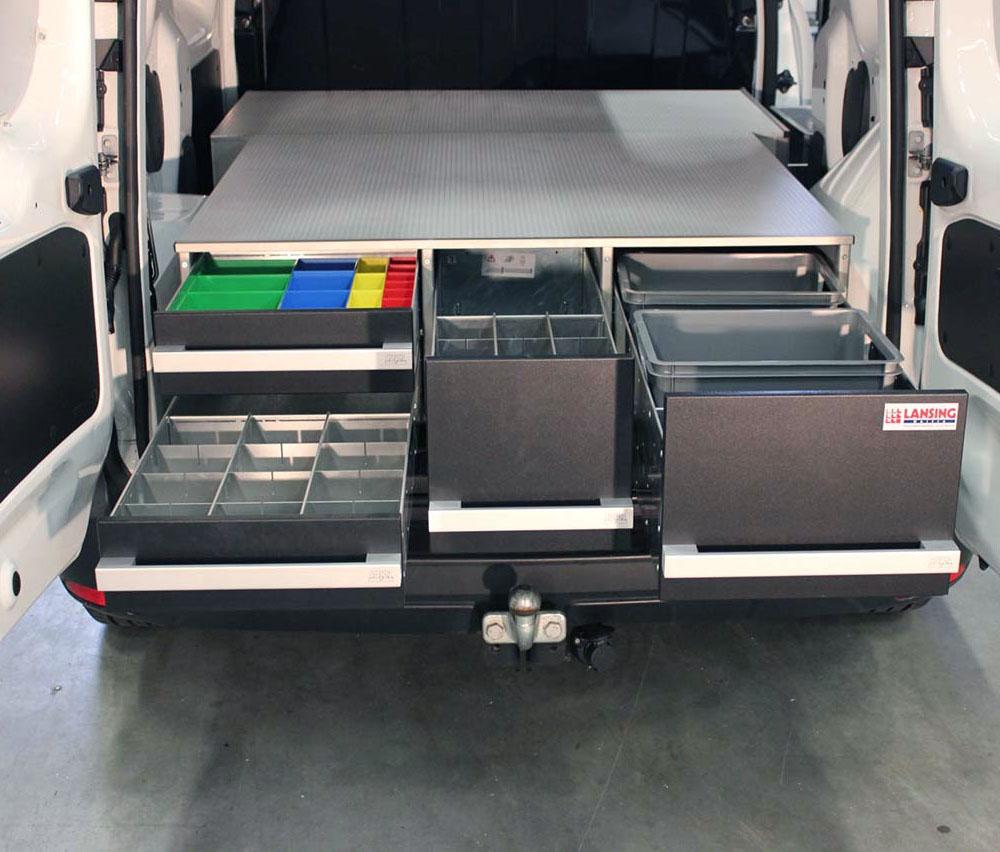 Bedrijfswageninrichting - Beks ladesystemen & | Lansing Unitra