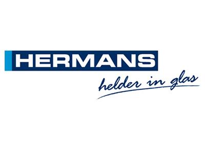 Hermans glas facade