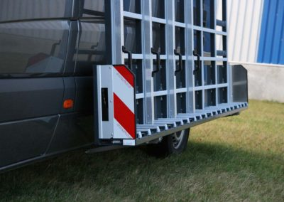 Volkswagen-crafter-van-glass-rack-powdercoating