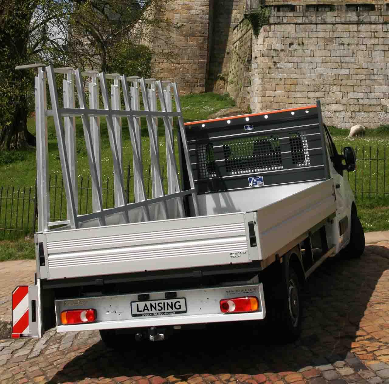 Pickup-glass-rack-from-Lansing-Unitra
