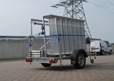 Scaffolding trailer the Storemaster
