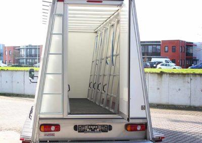 Fahrzeugaufbauten mit innen Glasreff und außen Glasreff