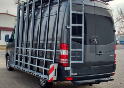 glasreff mercedes sprinter transporter