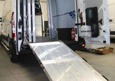 Custom-build-van-racking-equipment-ramp