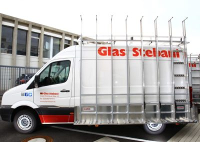 Glasreff für Stebani
