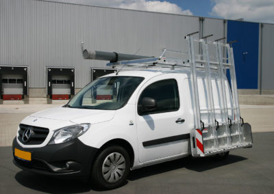 Glass rack for the Mercedes Citan