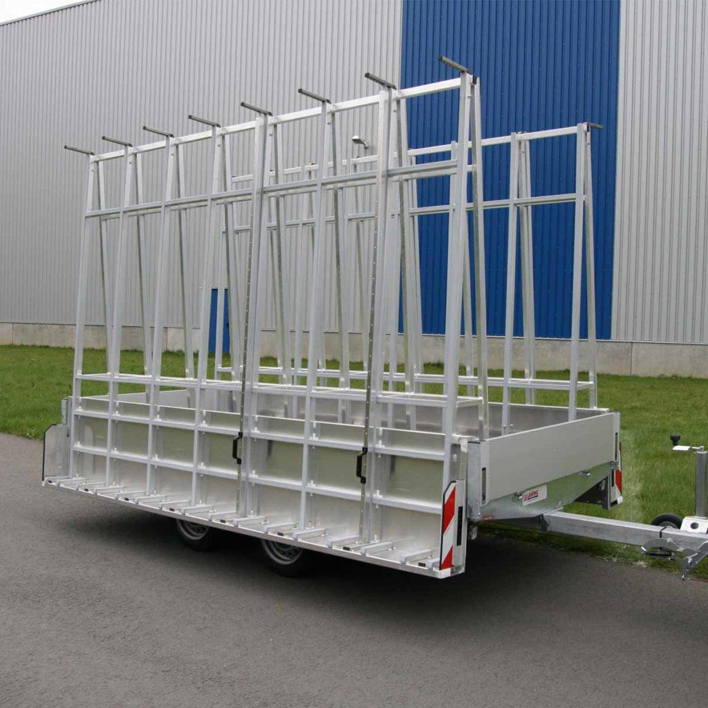 Glasreff-anhänger-aluminium-transportgestell