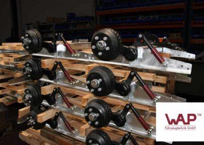 WAP assen staan bekend in de aanhanger branche als hoge kwaliteits assen.