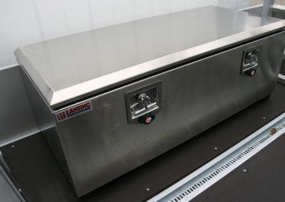 Rvs - gereedschapkist - chassis cabine - lansing Unitra